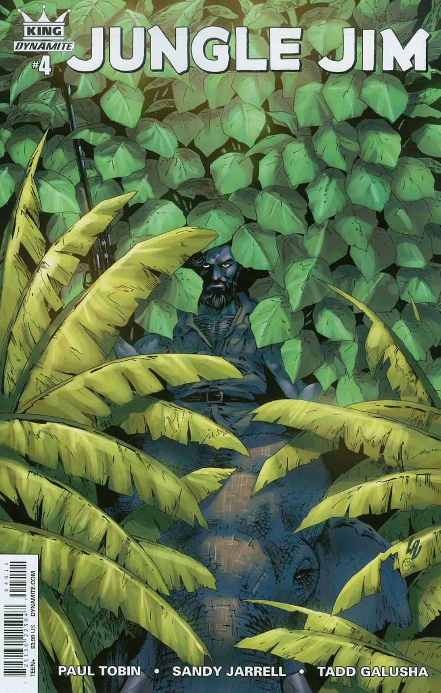 King Jungle Jim #4 Cover A Regular Jonathan Lau Cover