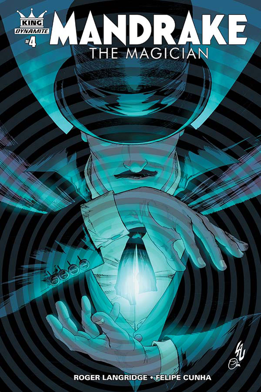 King Mandrake The Magician #4 Cover A Regular Jonathan Lau Cover