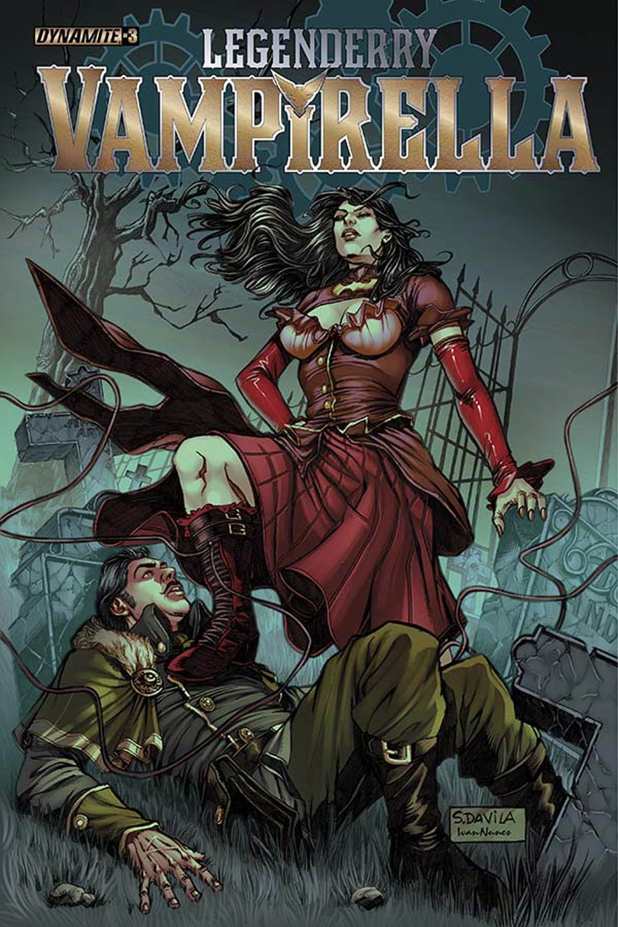 Legenderry Vampirella #3 Cover A Regular Sergio Fernandez Davila Cover
