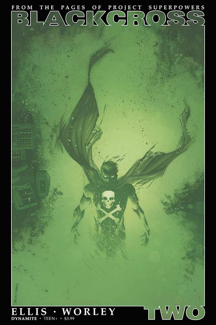 Project Superpowers Blackcross #2 Cover B Variant Declan Shalvey Cover