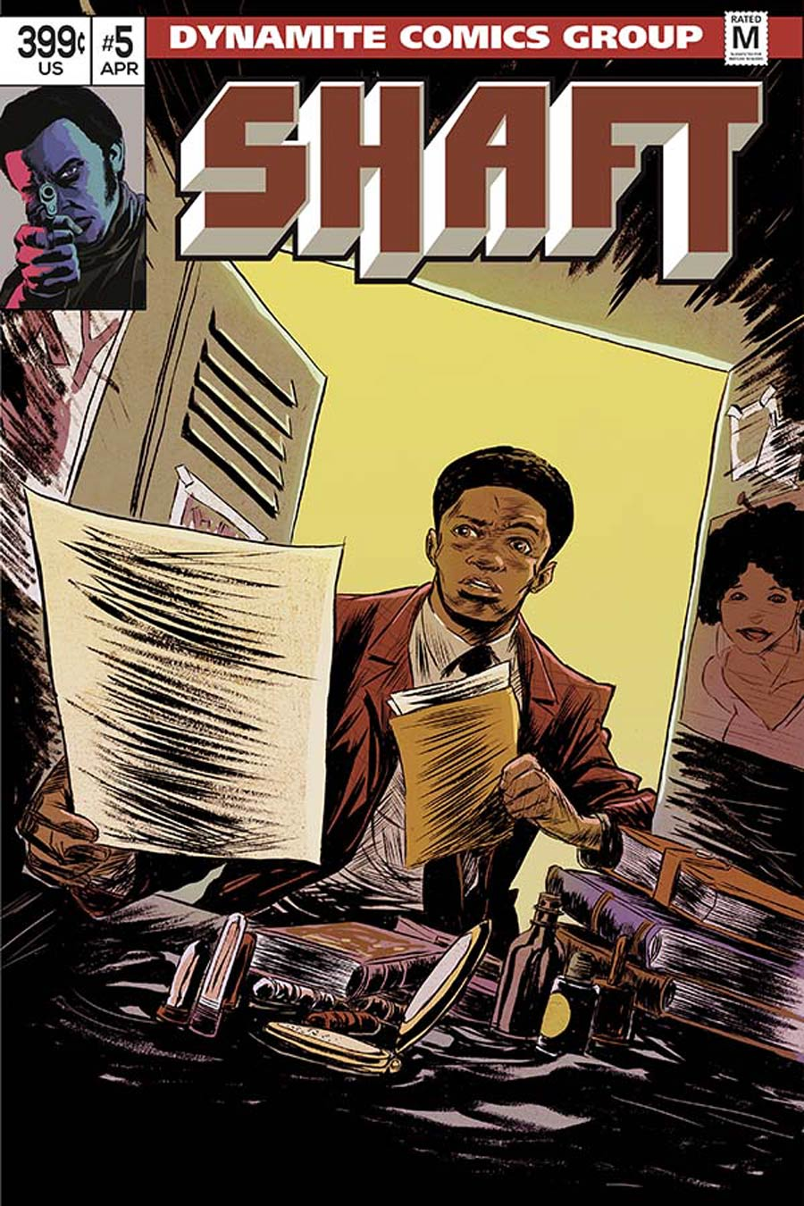 Shaft #5 Cover C Variant Sanford Greene Subscription Cover