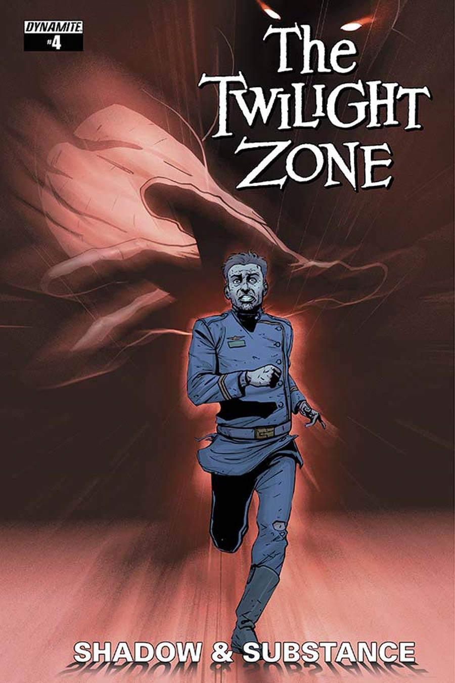 Twilight Zone Shadow & Substance #4 Cover A Regular Guiu Vilanova Cover