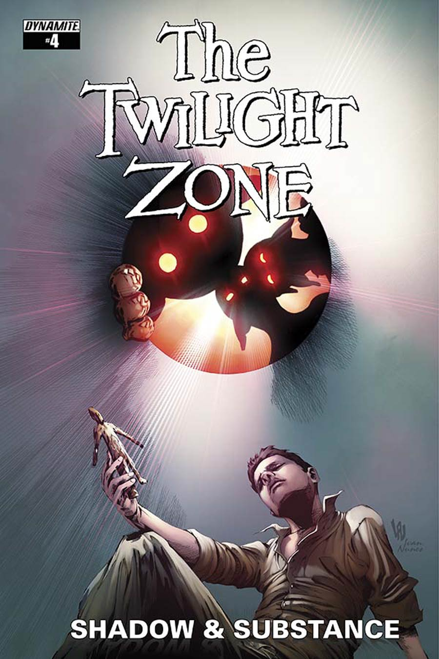 Twilight Zone Shadow & Substance #4 Cover C Variant Jonathan Lau Subscription Cover