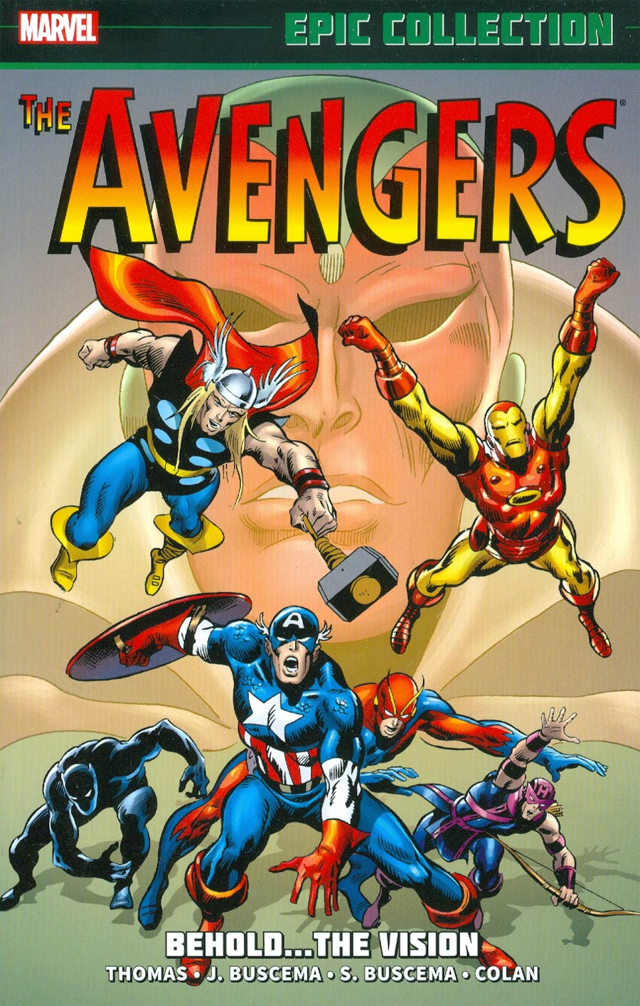 Avengers Epic Collection Vol 4 Behold The Vision TP