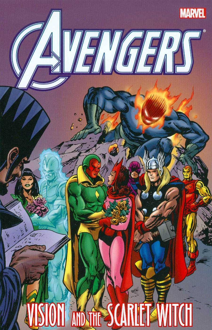 Avengers Vision And The Scarlet Witch TP New Printing