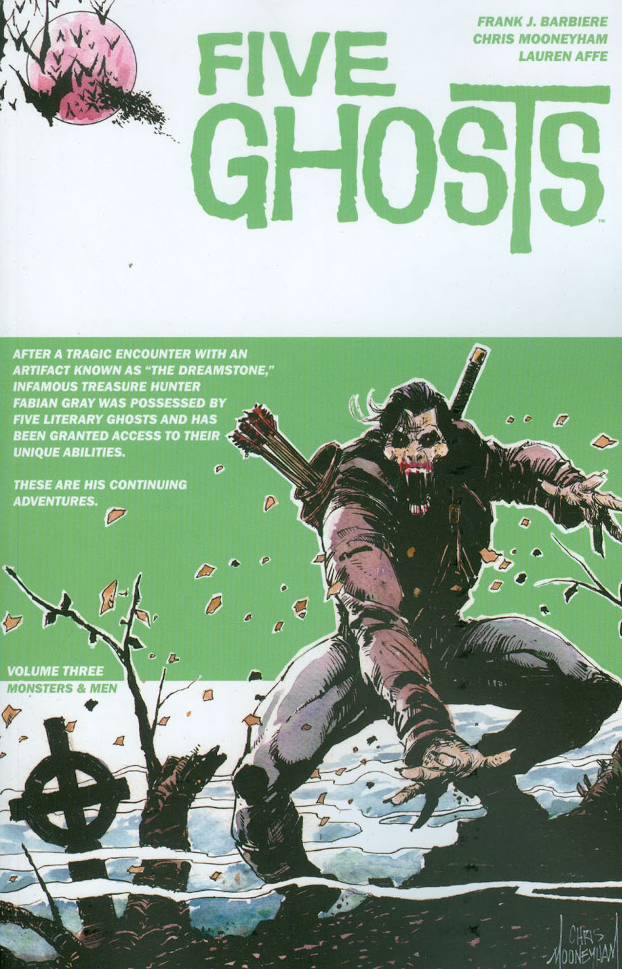 Five Ghosts Vol 3 Monsters & Men TP