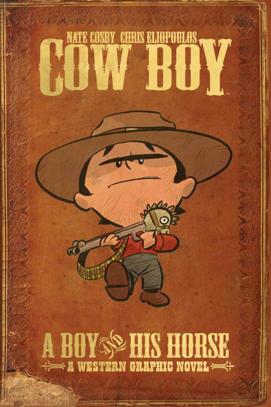 Cow Boy A Boy And His Horse TP