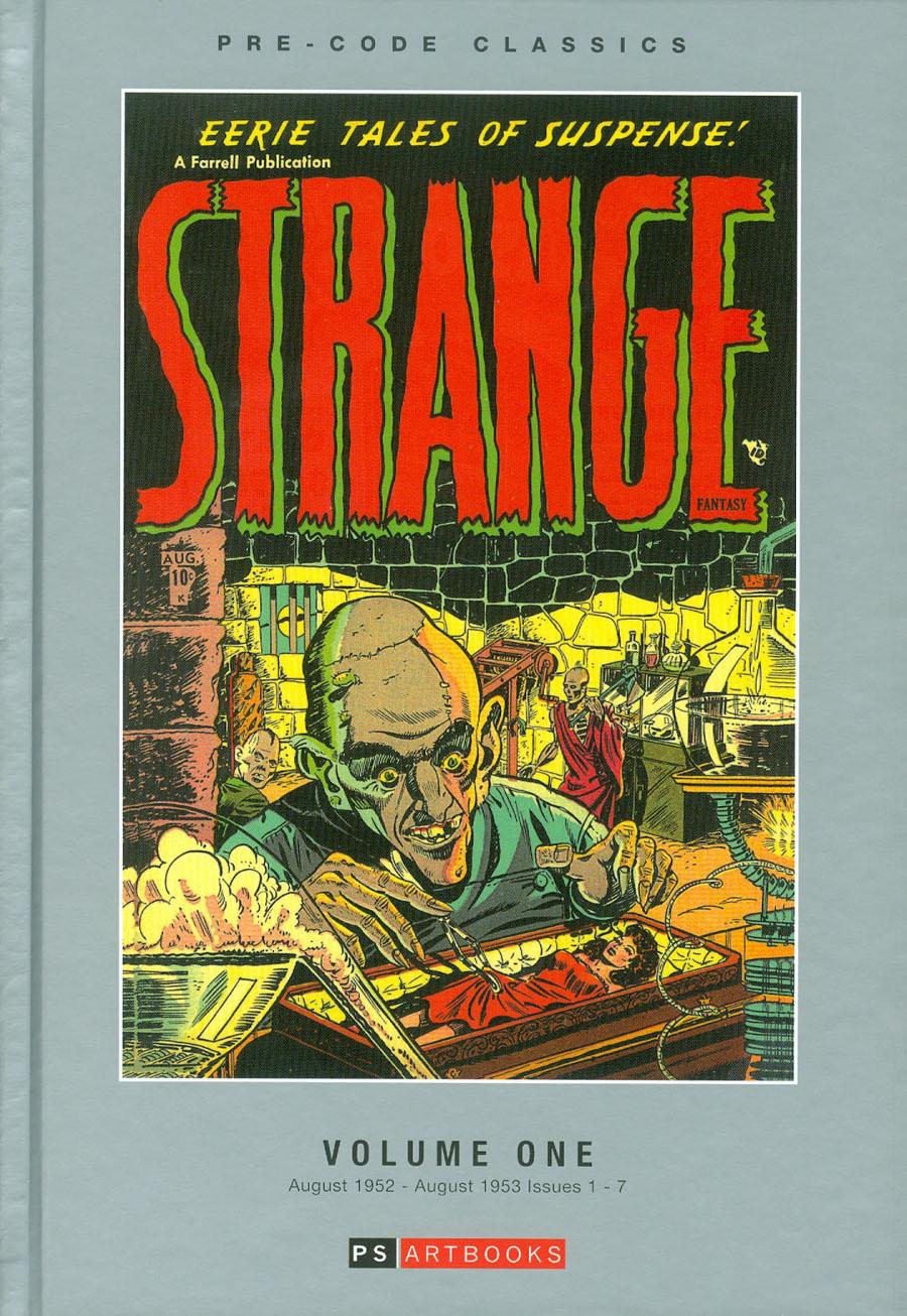 Pre-Code Classics Strange Fantasy Vol 1 HC