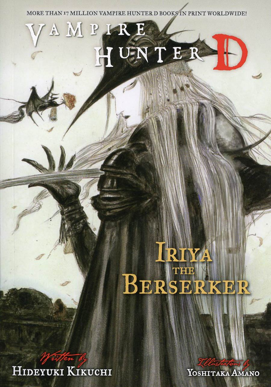 Vampire Hunter D Novel Vol 23 Iriya The Berserker SC
