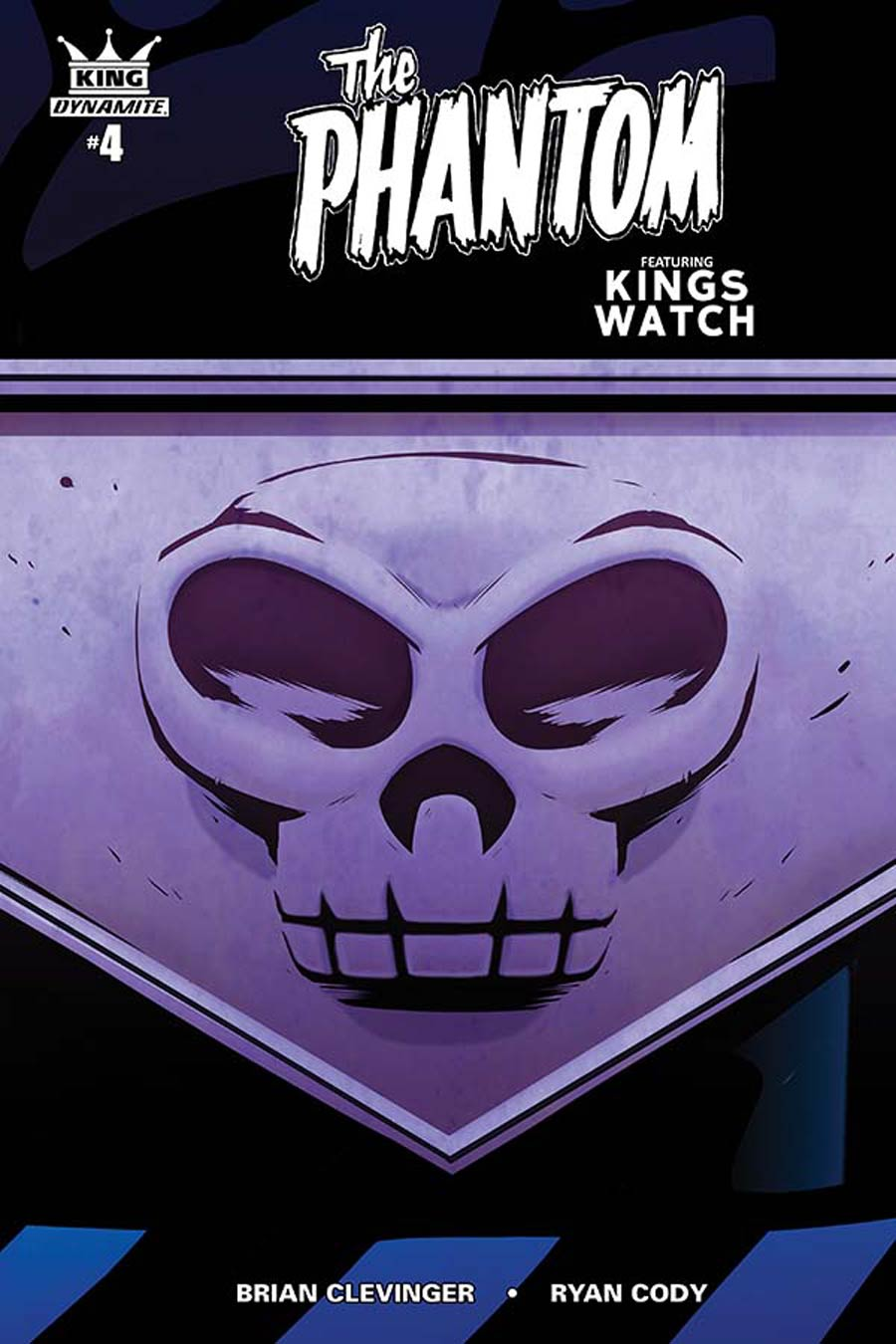King Phantom #4 Cover C Incentive Stephen Downey Color Variant Cover