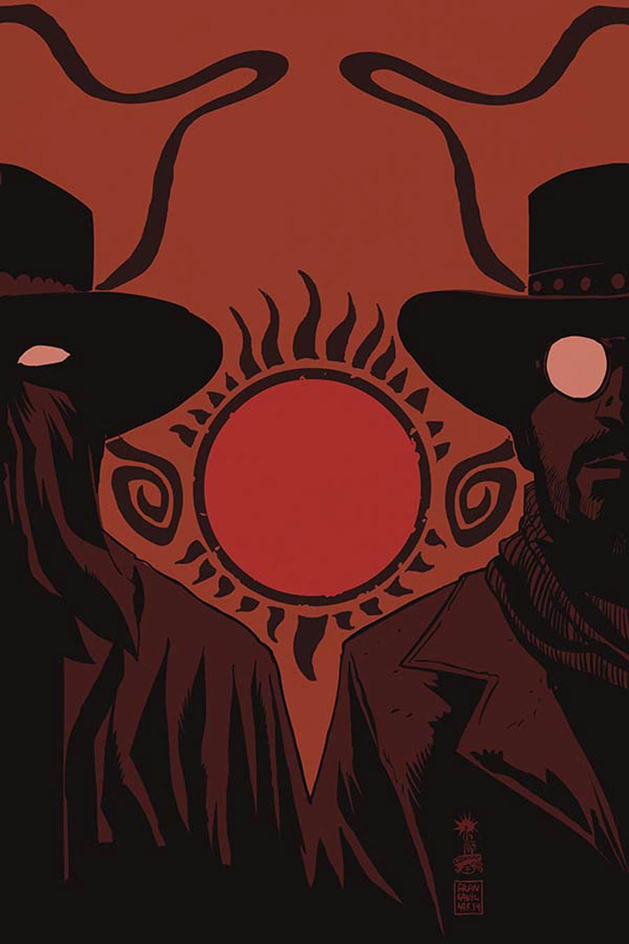 Django Zorro #6 Cover D Incentive Francesco Francavilla Virgin Cover