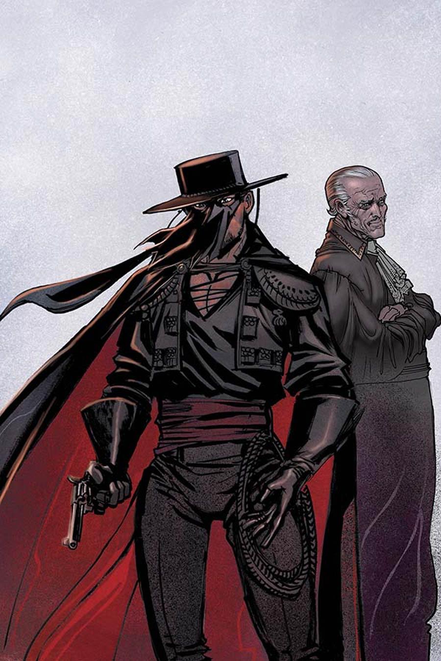 Django Zorro #6 Cover E Incentive Moritat Virgin Cover