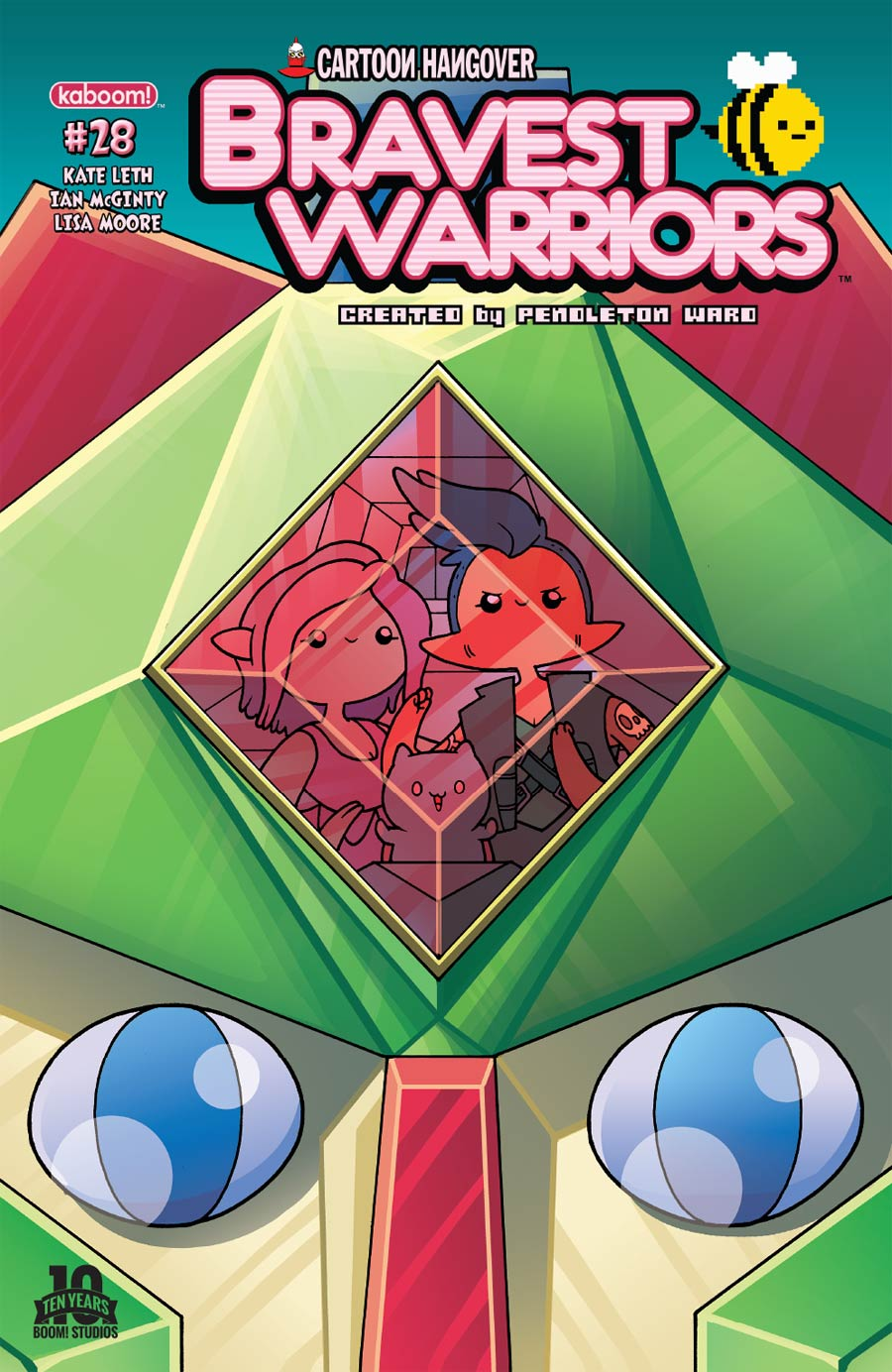 Bravest Warriors #28 Cover A Regular Ian McGinty Cover