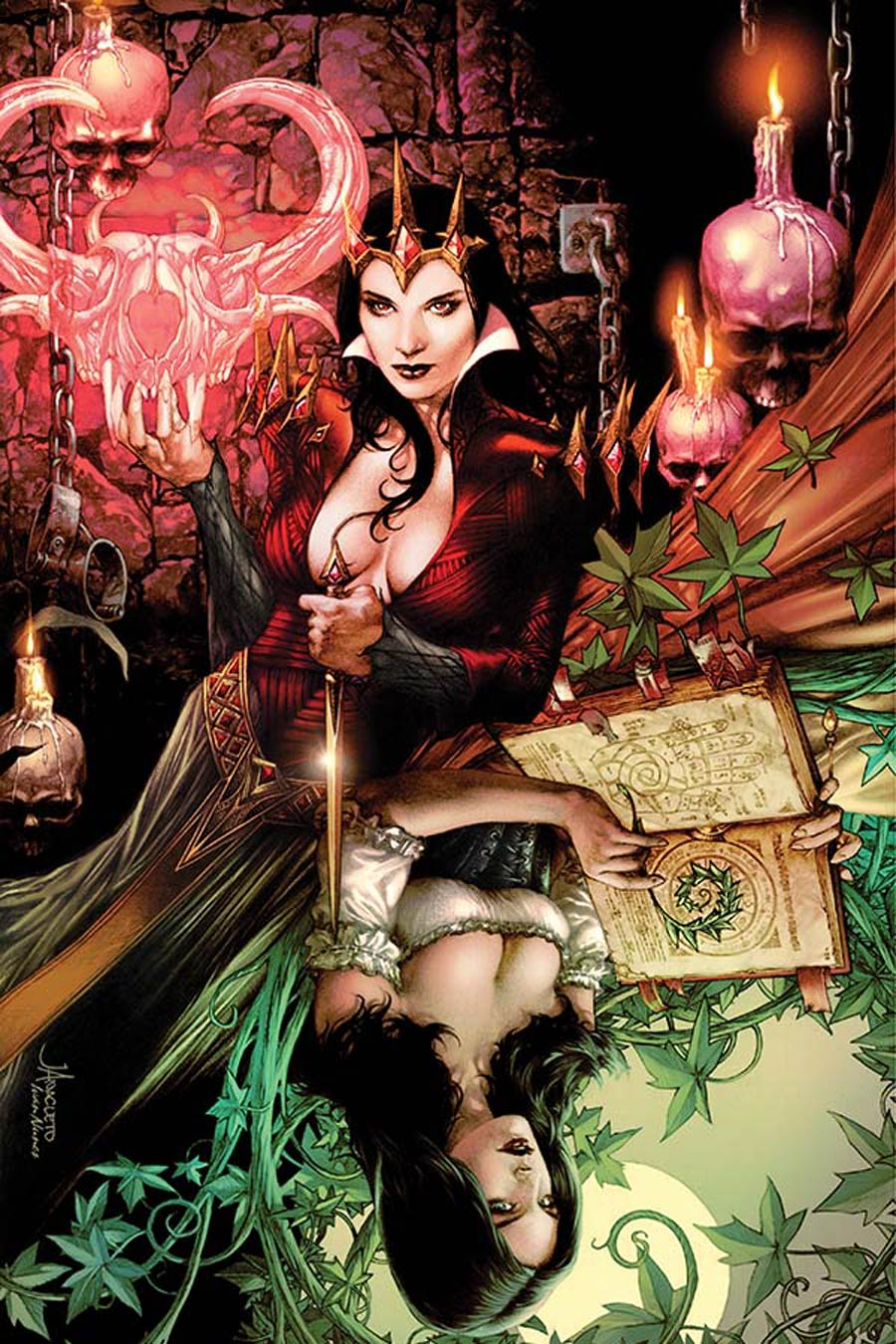 Blood Queen #1 Cover M High-End Jay Anacleto Virgin Art Ultra-Limited Variant Cover (ONLY 25 COPIES IN EXISTENCE!)