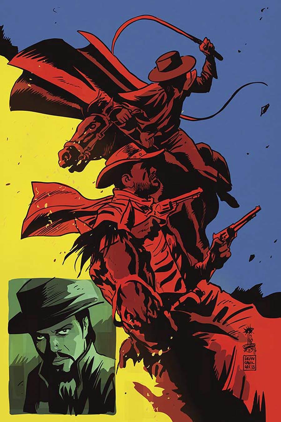 Django Zorro #3 Cover D Incentive Francesco Francavilla Virgin Cover
