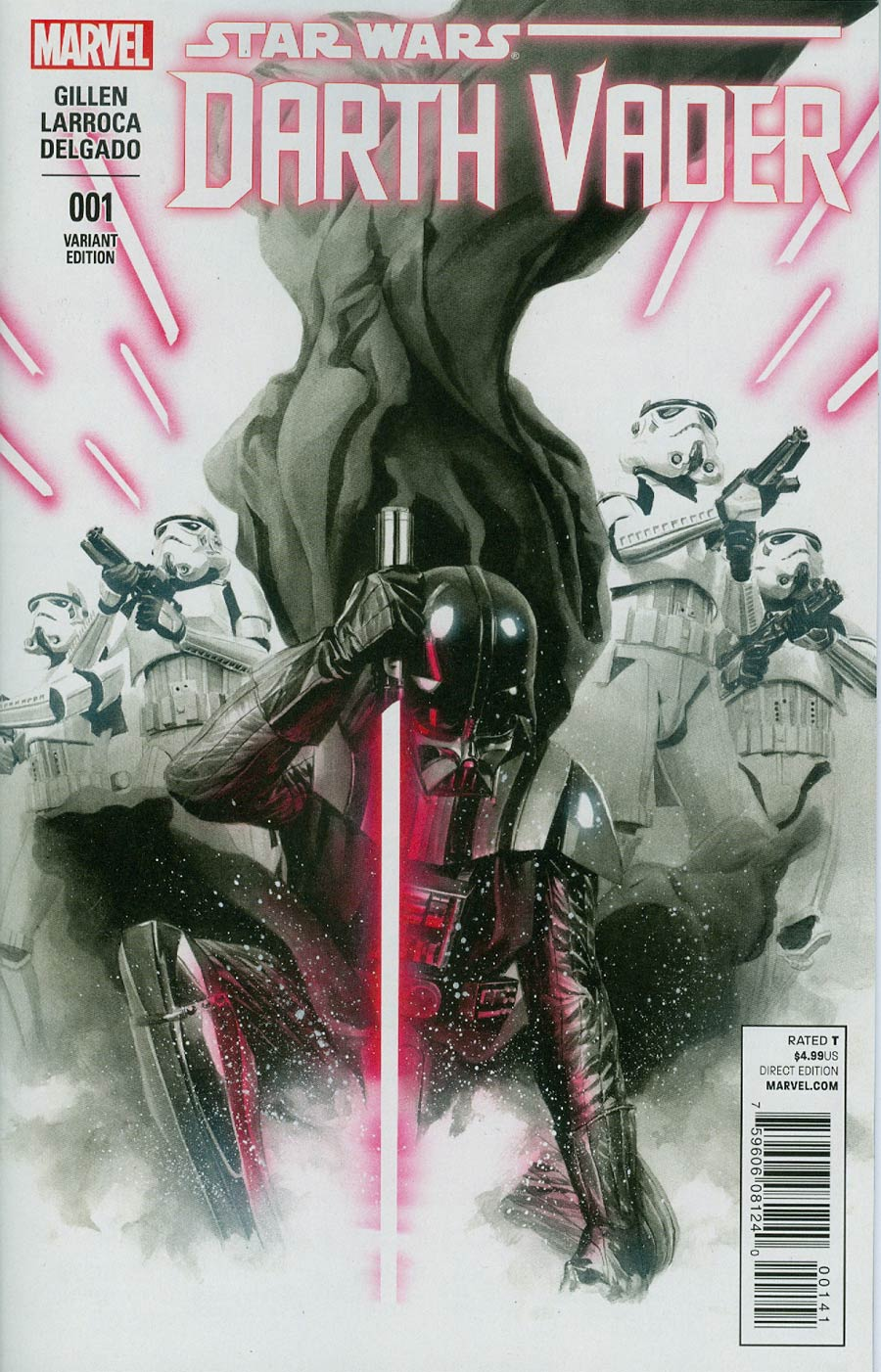 Darth Vader #1 Cover N Incentive Alex Ross Color Variant Cover