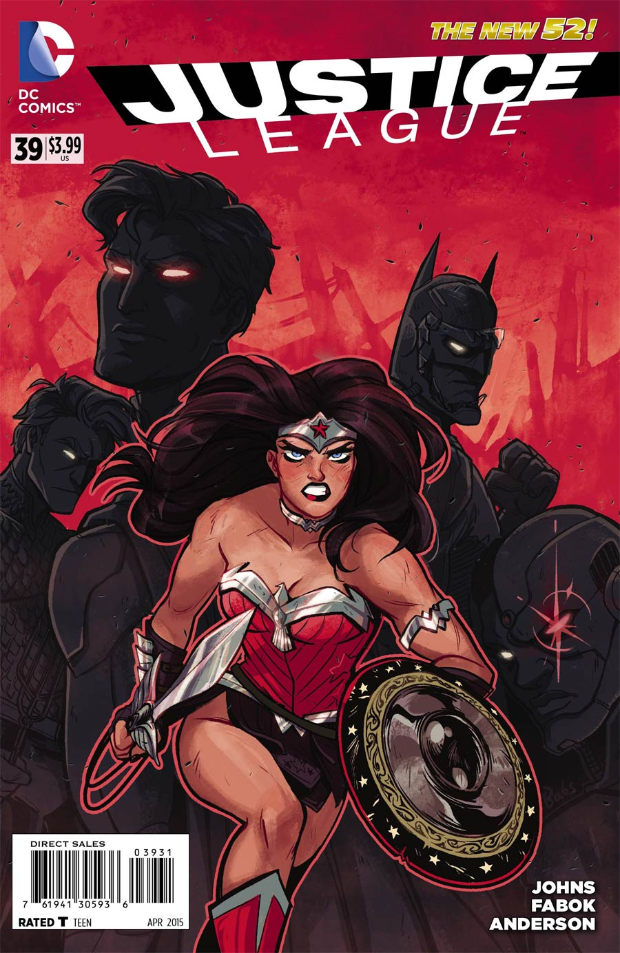 Justice League Vol 2 #39 Cover E Incentive Babs Tarr Variant Cover
