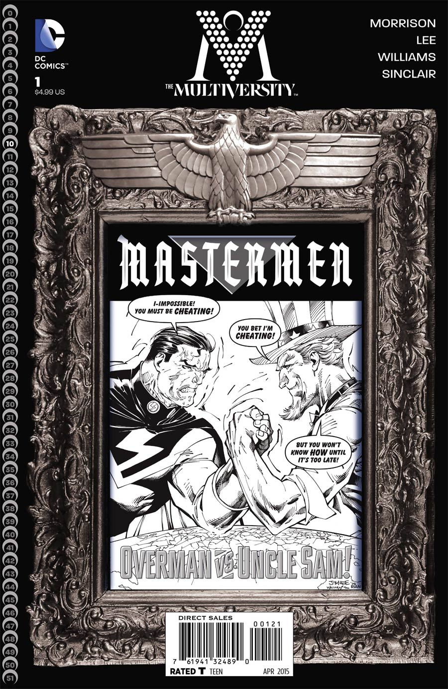 Multiversity Mastermen #1 Cover B Incentive Jim Lee Sketch Cover