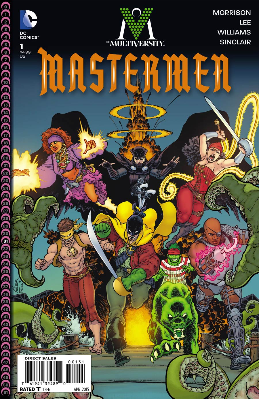 Multiversity Mastermen #1 Cover C Incentive Aaron Kuder Variant Cover