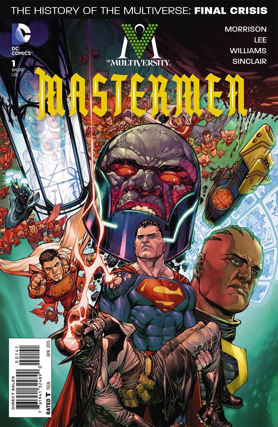 Multiversity Mastermen #1 Cover D Incentive Yanick Paquette Variant Cover