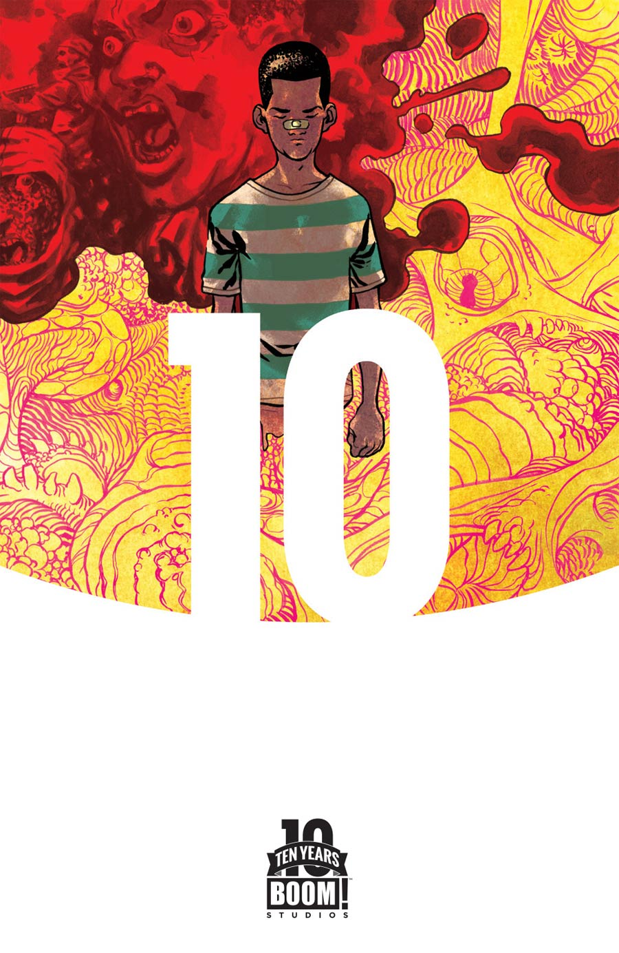 Plunder #1 Cover B Incentive Ramon Perez BOOM 10 Years Anniversary Virgin Variant Cover