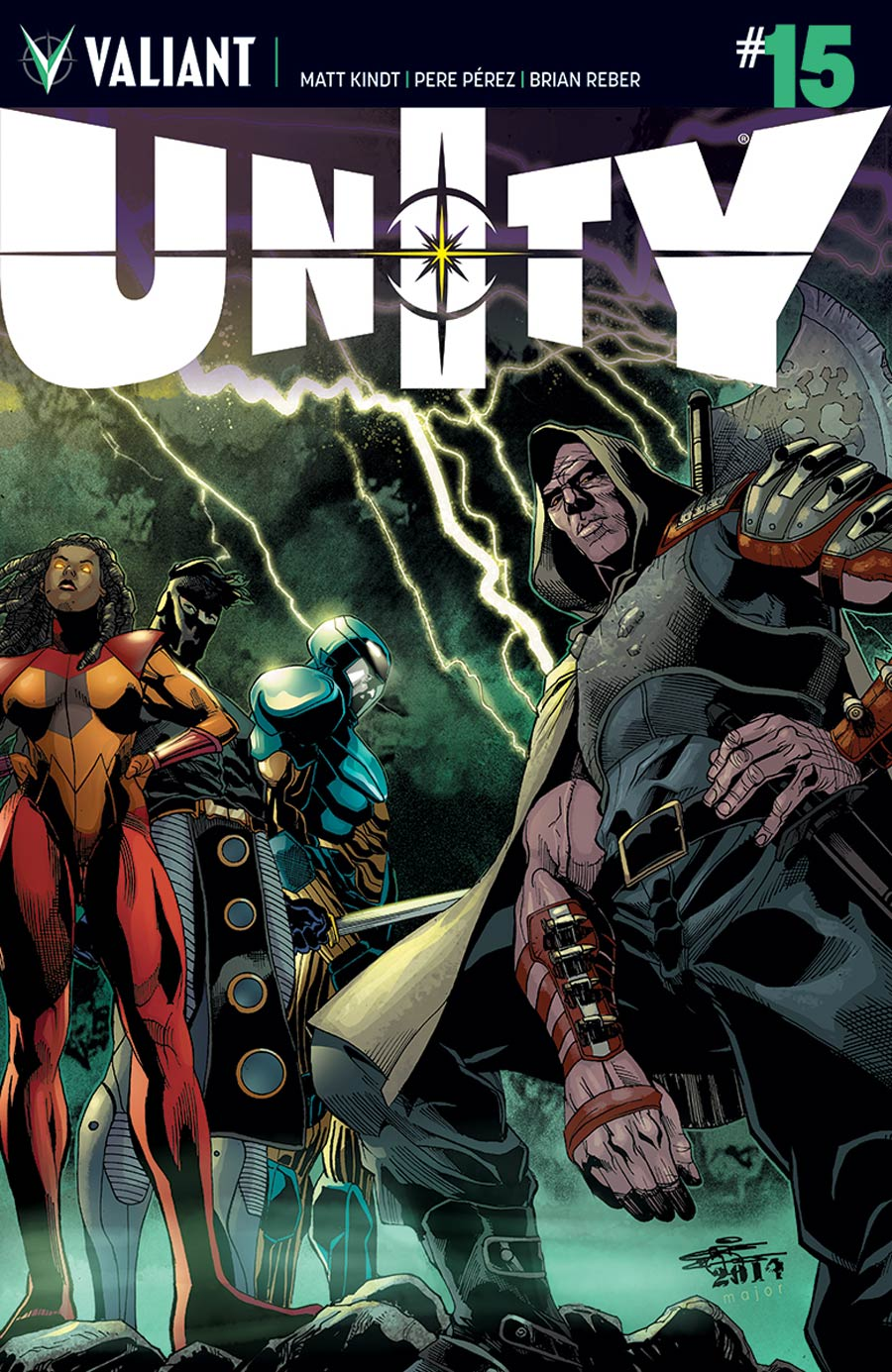Unity Vol 2 #15 Cover C Incentive ChrisCross Variant Cover