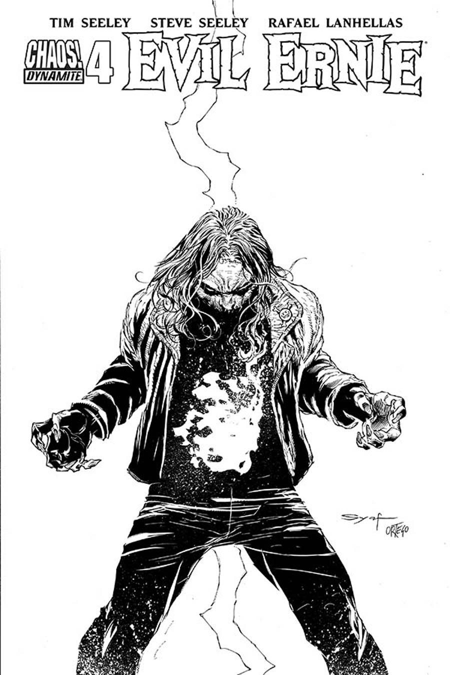 Evil Ernie Vol 4 #4 Cover E Incentive Ardian Syaf Black & White Cover