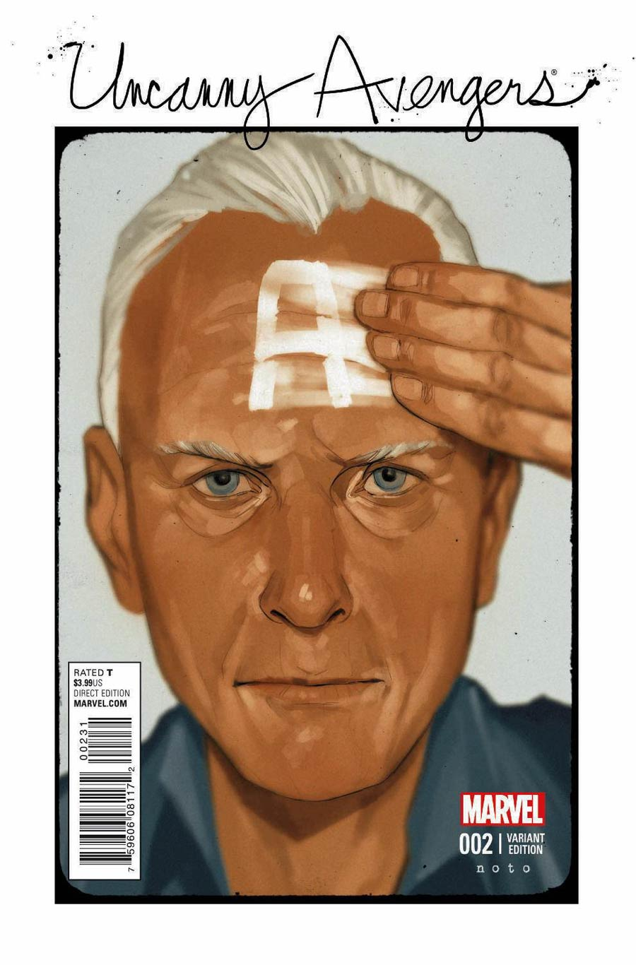 Uncanny Avengers Vol 2 #2 Cover B Variant Phil Noto Cover