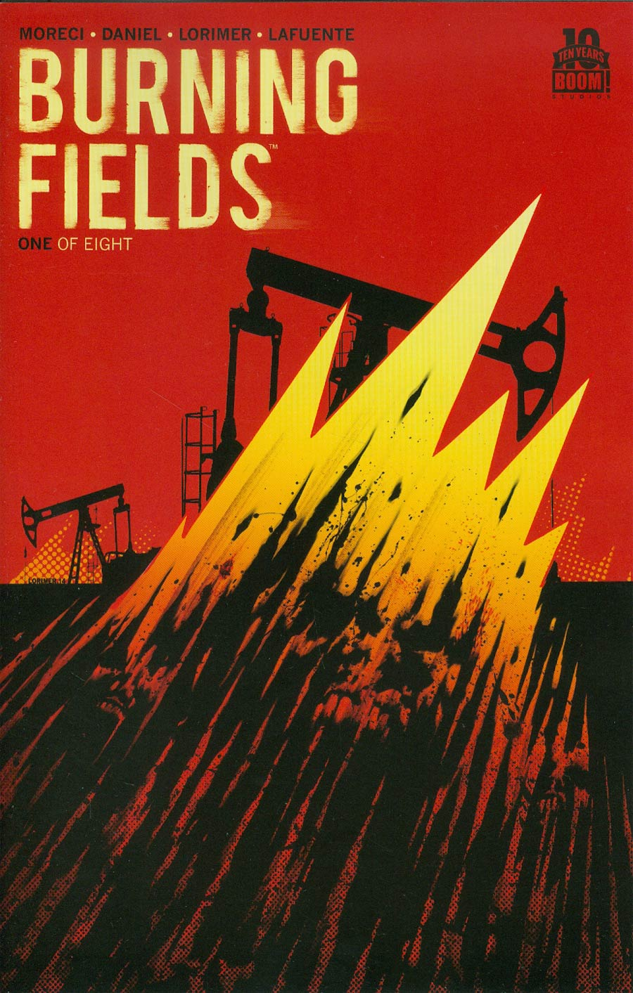 Burning Fields #1 Cover D 2nd Ptg Colin Lorimer Variant Cover