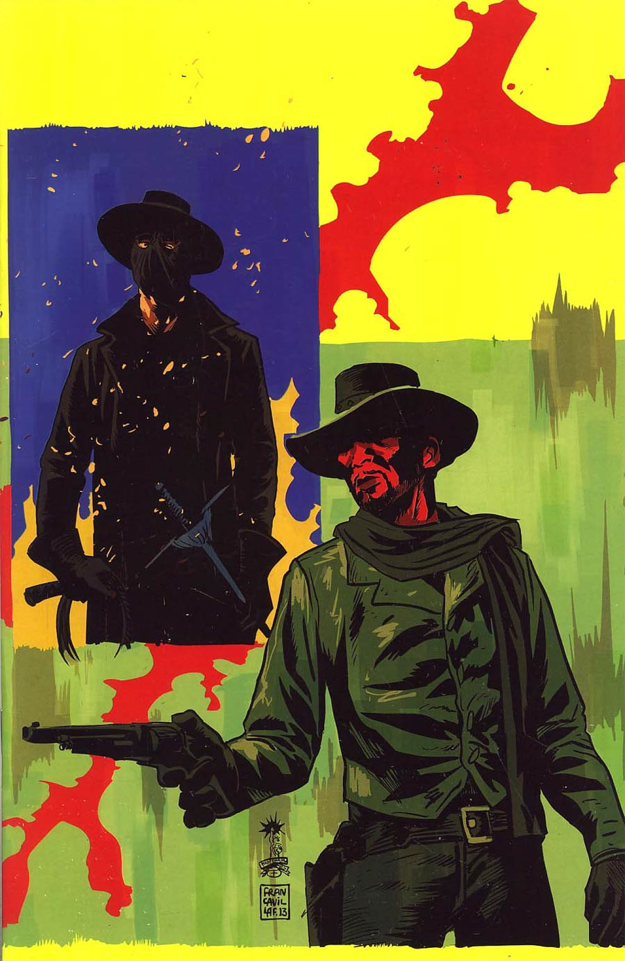 Django Zorro #4 Cover D Incentive Francesco Francavilla Virgin Cover