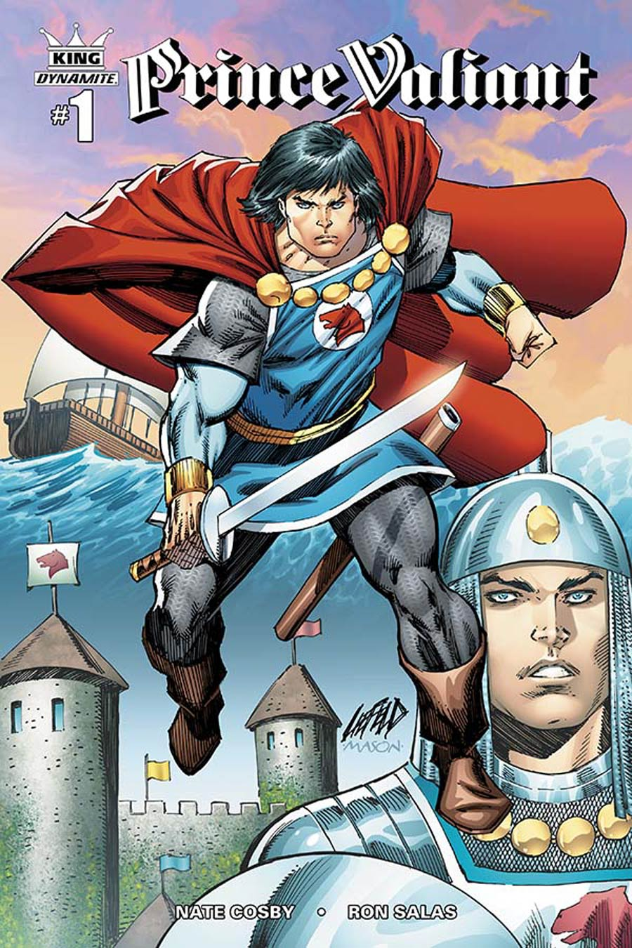 King Prince Valiant #1 Cover C Incentive Rob Liefeld Color Variant Cover