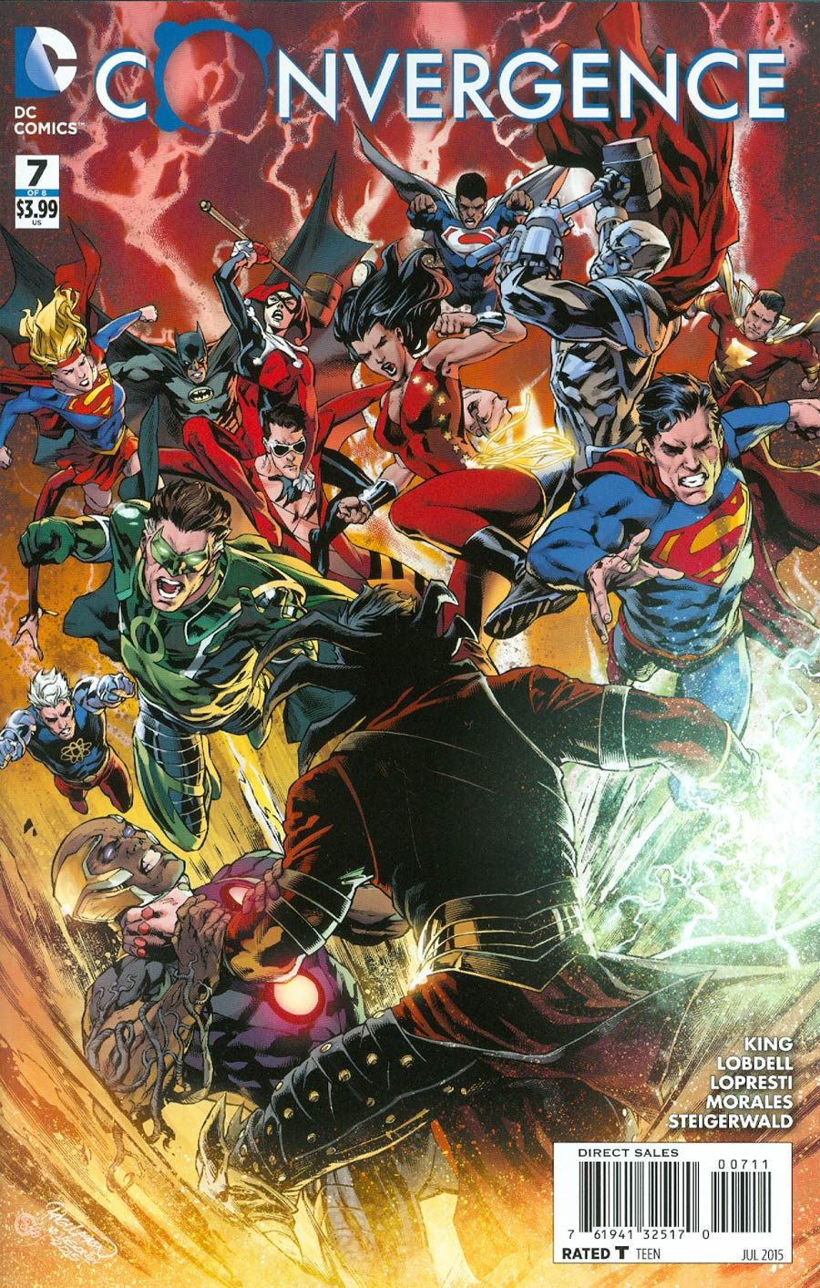 Convergence #7 Cover A Regular Carlo Pagulayan Cover
