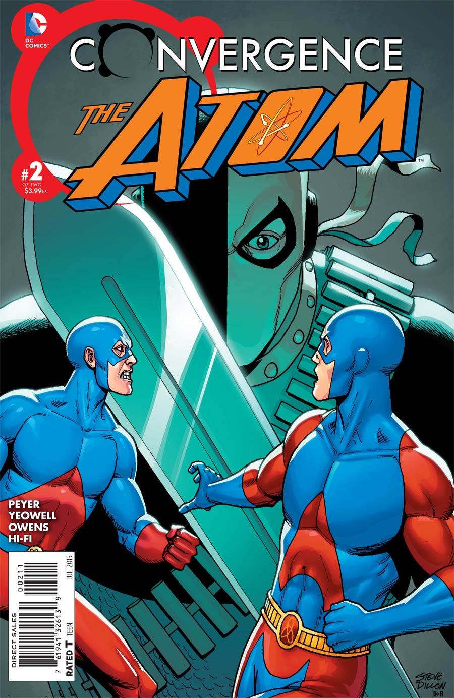Convergence Atom #2 Cover A Regular Steve Dillon Cover