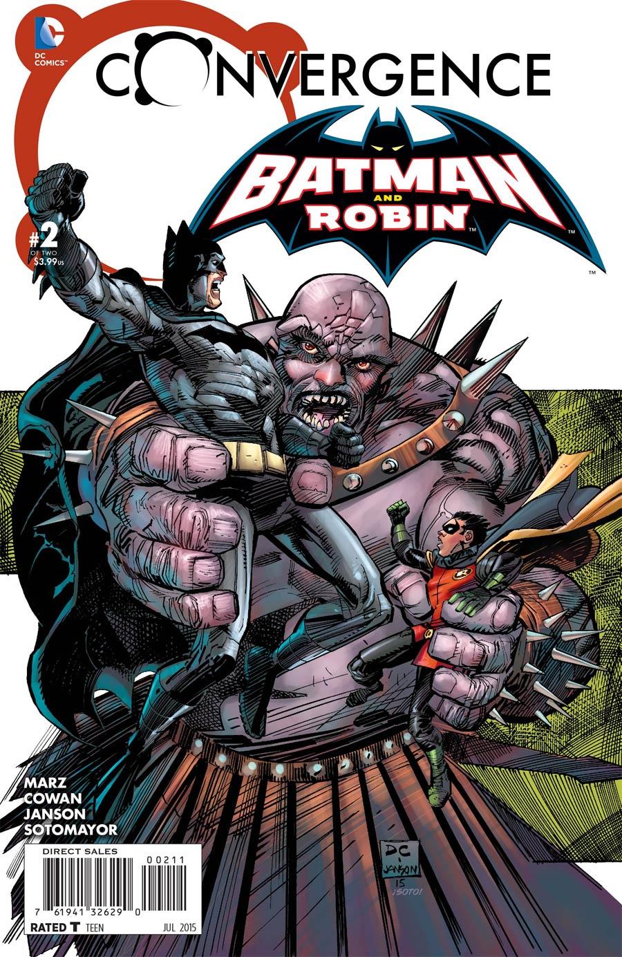 Convergence Batman And Robin #2 Cover A Regular Denys Cowan Cover