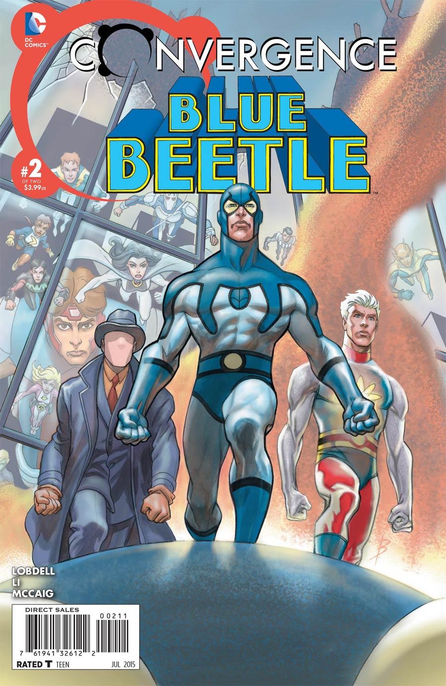Convergence Blue Beetle #2 Cover A Regular Bret Blevins Cover