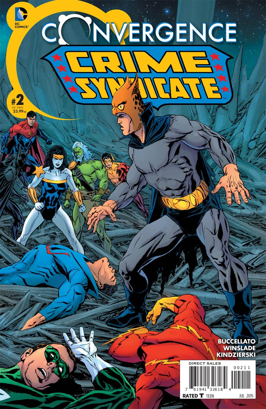 Convergence Crime Syndicate #2 Cover A Regular Phil Winslade Cover
