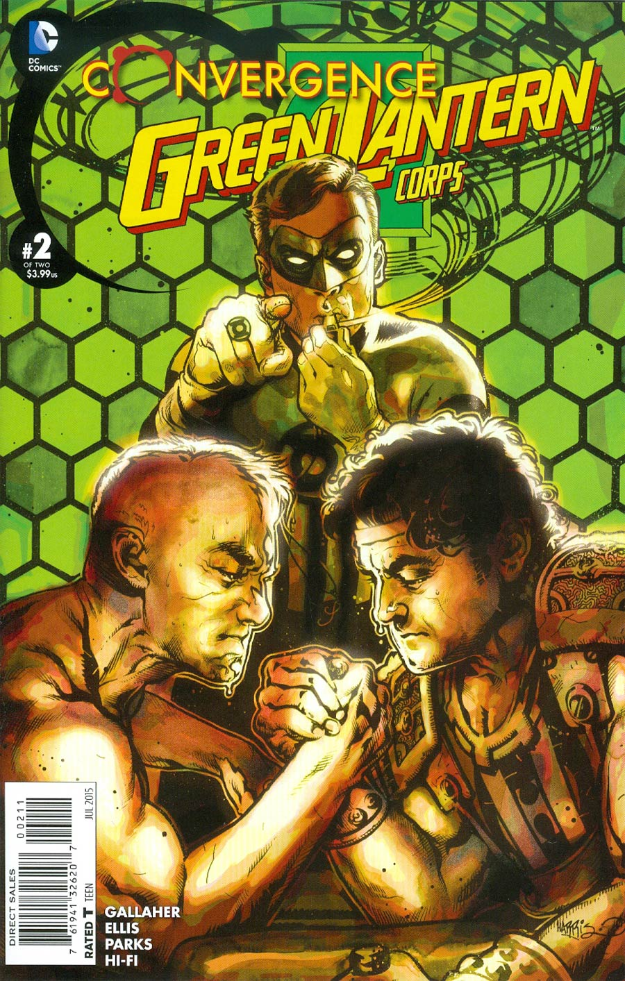 Convergence Green Lantern Corps #2 Cover A Regular Tony Harris Cover