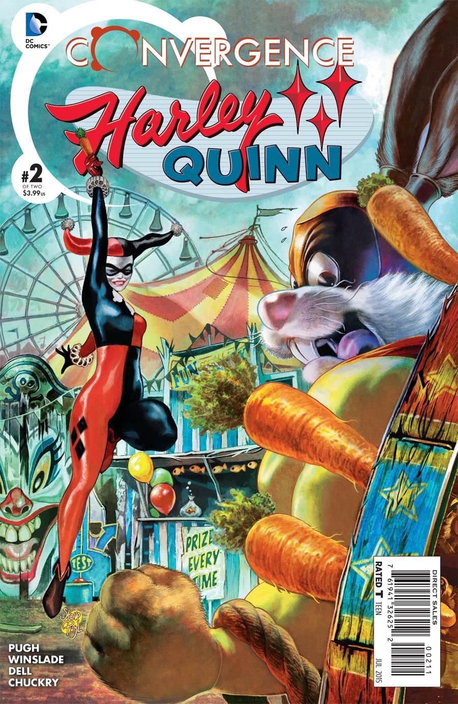 Convergence Harley Quinn #2 Cover A Regular Steve Pugh Cover