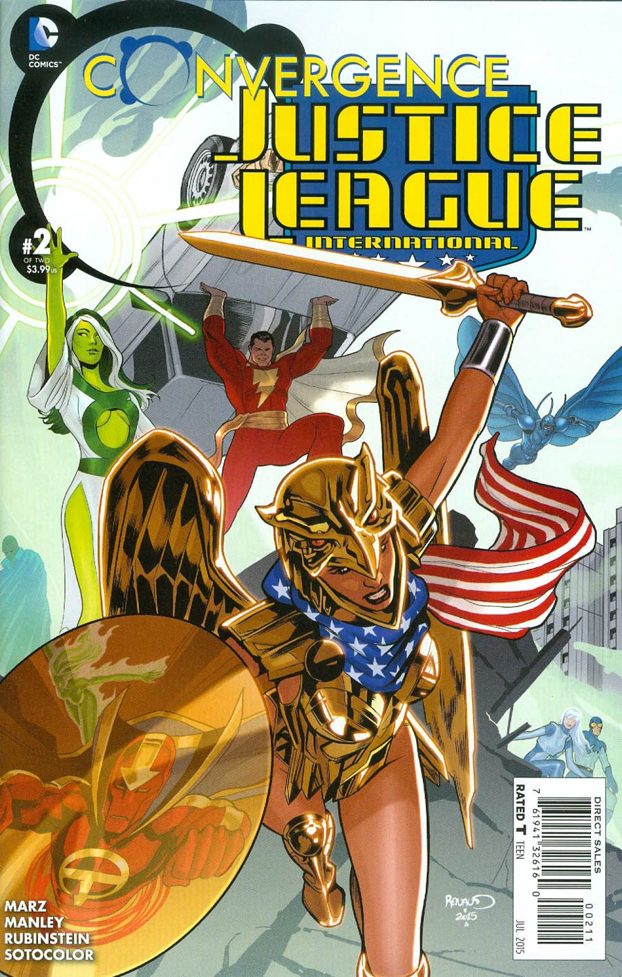 Convergence Justice League International #2 Cover A Regular Paul Renaud Cover