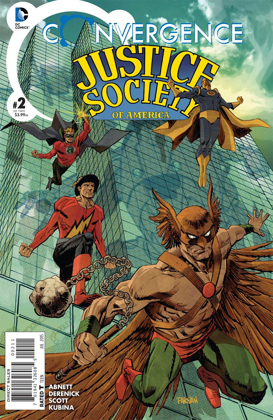 Convergence Justice Society Of America #2 Cover A Regular Dan Panosian Cover