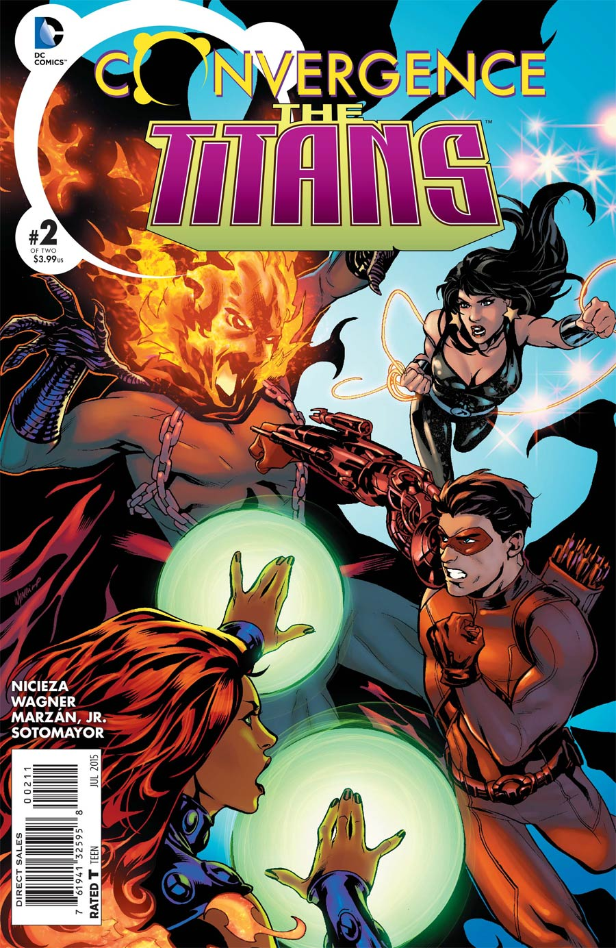 Convergence Titans #2 Cover A Regular Emanuela Lupacchino Cover