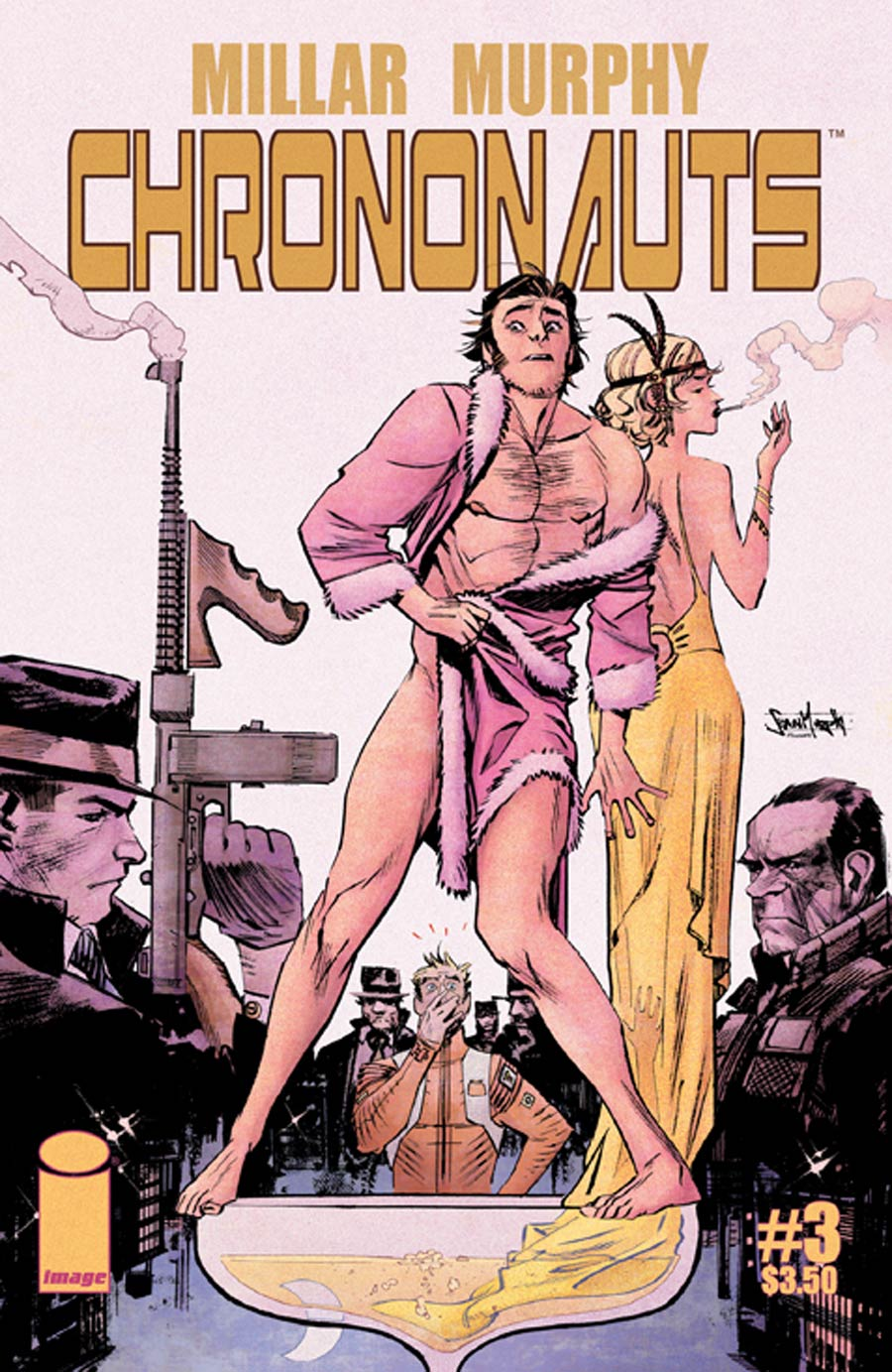 Chrononauts #3 Cover A Regular Sean Murphy Cover