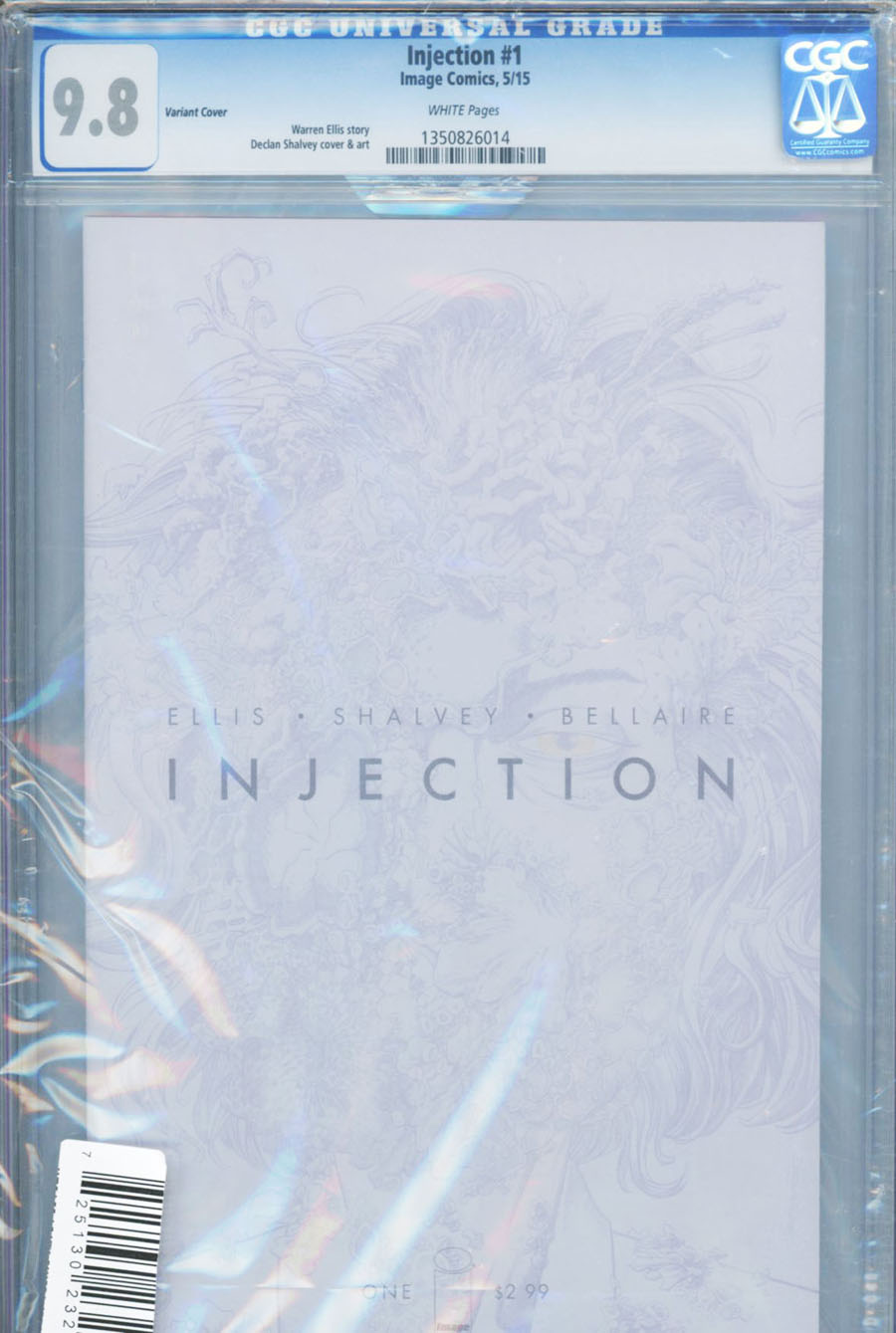 Injection #1 Cover C DF CGC Graded