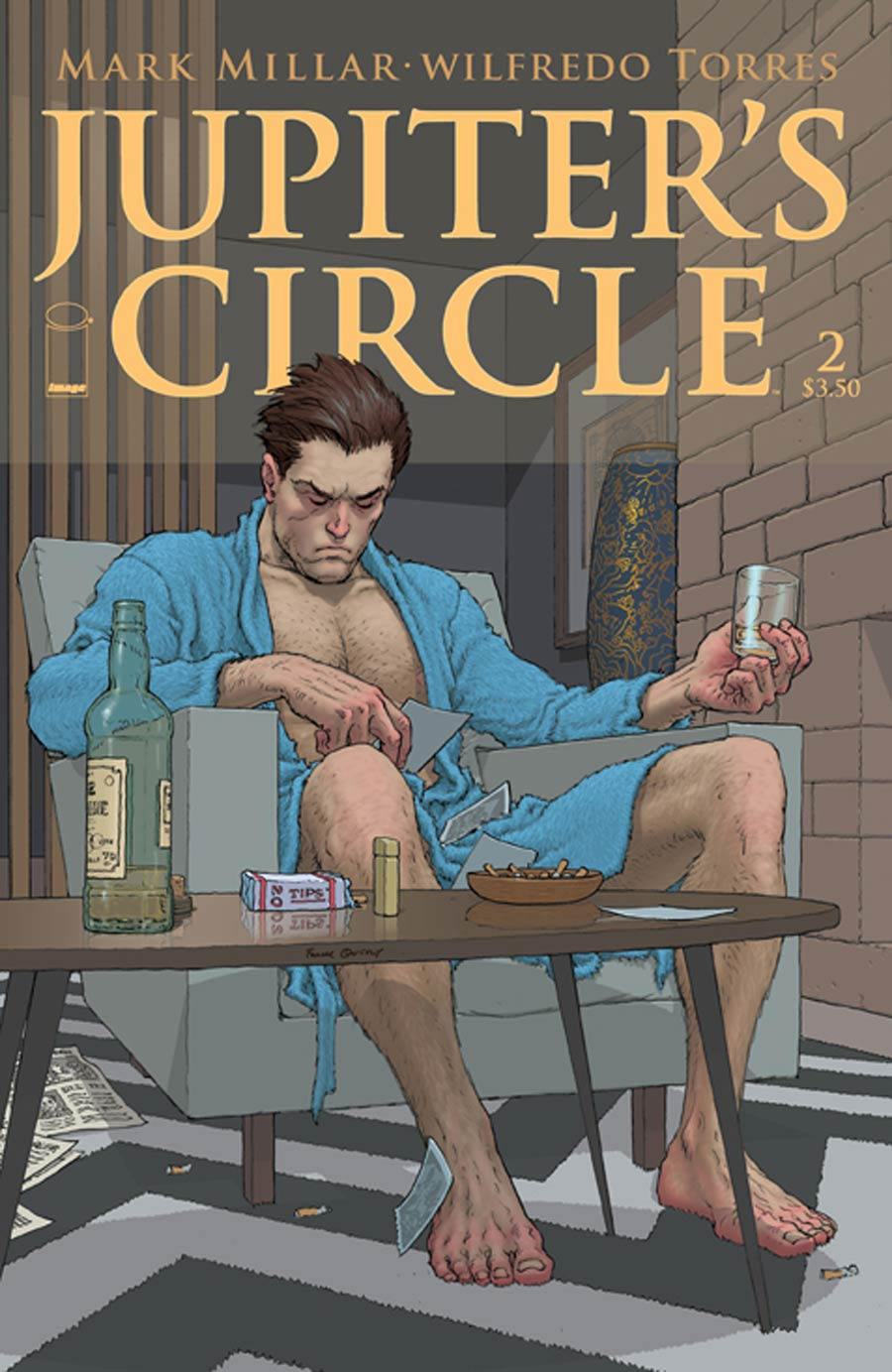 Jupiters Circle #2 Cover A Regular Frank Quitely Cover