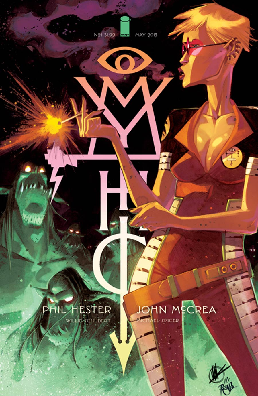 Mythic #1 Cover B Sean Gordon Murphy