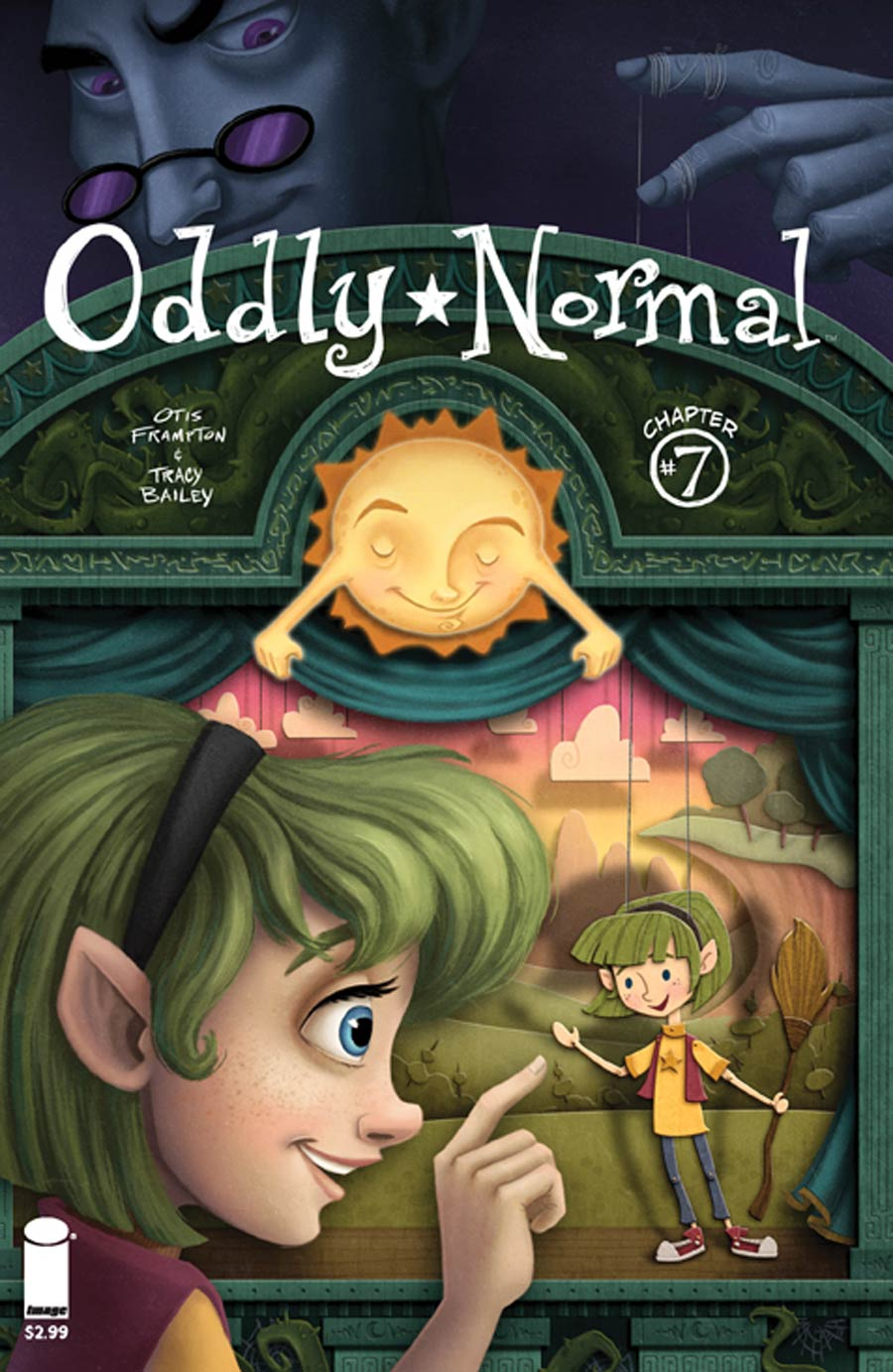 Oddly Normal Vol 2 #7 Cover B Maryn Roos