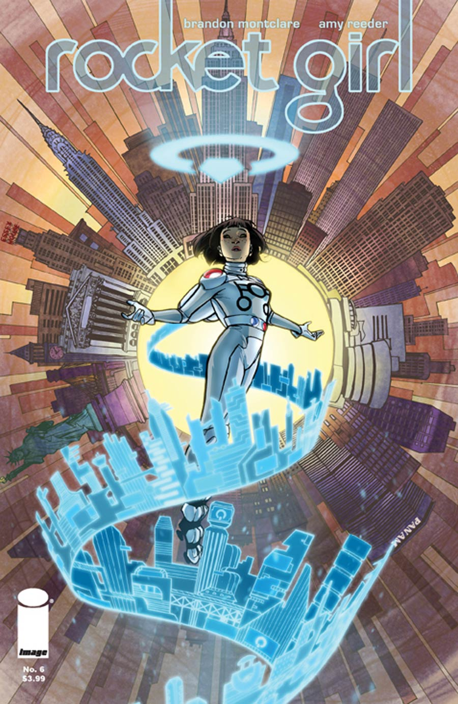 Rocket Girl #6 Cover A Regular Amy Reeder Cover