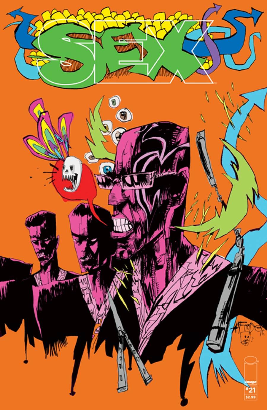 Sex #21 Cover C Jim Mahfood