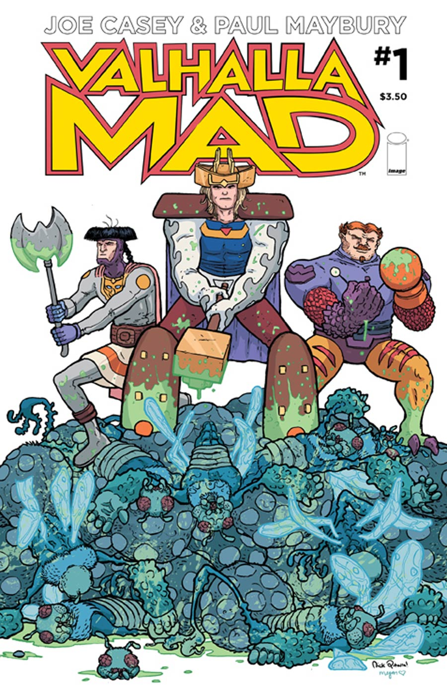 Valhalla Mad #1 Cover B Nick Pitarra