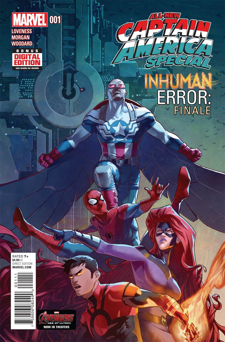 All-New Captain America Special #1 Cover A Regular Jamal Campbell Cover (Inhuman Error Part 3)